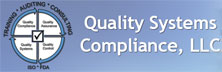 Quality Systems Compliance LLC: Steering the Path to Compliance